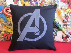 Avengers Pillow - Superhero by CreativeKryptonite on Etsy