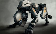 armored dog robot