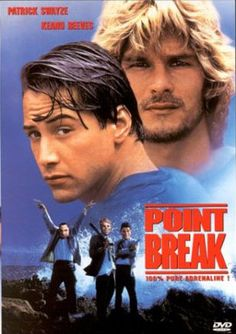 Patrick Swayze & Keanu Reeves whats not to love