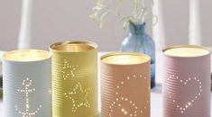 50 Jaw-Dropping Ideas for Upcycling Tin Cans Into Beautiful Household Items! Diy Upcycling, Image Notes, Kinds Of Salad, Potpourri, Decoration, Pin Collection, Pillar Candles, Pure Products, Pretty