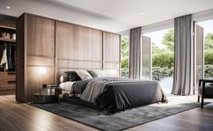 Traditional Home Holiday Decor .Traditional Home Holiday Decor Master Bedroom Interior, Bedroom Closet Design, Modern Master Bedroom, Modern Bedroom Design, Home Room Design, Contemporary Bedroom, Home Decor Bedroom, Home Interior Design, Bedroom Designs