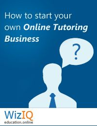 "Download this free White Paper: ""How to Start Your Own Online Tutoring Business"" and know more about starting your own business.     http://www.wiziq.com/whitepaper/14-how-to-start-your-own-online-tutoring-business"