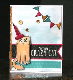HeARTful Stamper: August Stamp of the Month Blog Hop - Purr-fect Halloween