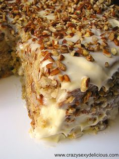 Hummingbird Cake (For Mother's Day)