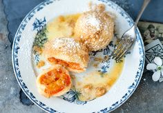 Apricot dumplings are everyones favorite in fall. Surprise your family with this great Austrian dessert.
