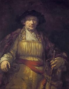 Rembrandt van Rijn, Self portrait, New York City (United States), The Frick Collection. Rembrandt is dressed in very rich clothes, showing his wealth as a painter. As he got older Rembrandt used looser and looser brushstrokes Portrait Lighting, European Art, Painter, Dutch Painters, Dutch Artists, Painting, Art, Art History, Rembrandt Self Portrait