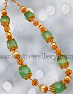 Emeralds and Pearls Beads Necklace manepally Antic Jewellery, Bead Jewellery, Gems Jewelry, Bridal Jewelry, Beaded Jewelry, Jewelery, Beaded Necklace, Necklaces, Amethyst Necklace