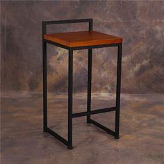 ¿No te alcanza? y junta dinero para llevártelo. Welded Furniture, Industrial Design Furniture, Iron Furniture, Steel Furniture, Pallet Furniture, Furniture Design, Steel Doors, Metal Chairs, Shop Interiors