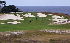 Cypress Point golf course, Pebble Beach CA, US