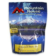 Mountain House Lasagna with Meat Sauce (Serves 4)
