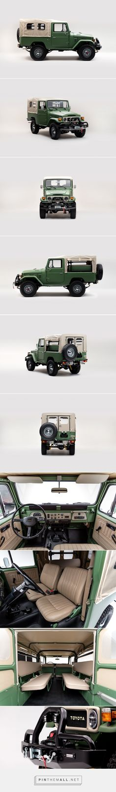 Matte Green 1984 Toyota Land Cruiser FJ43