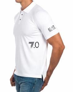 Polos Armani EA7 Blanco - 7.0