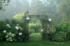 beautiful garden..Prince Edward Island