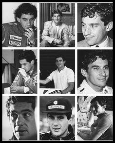 Ayrton Senna - Montagem