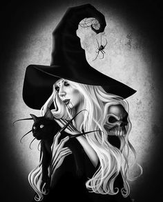 Maria Brink-this is not a photo this is someone's amazing artwork. Maria Brink, Dark Fantasy, Fantasy Art, Season Of The Witch, Witch Art, Halloween Art, Halloween Season, Happy Halloween, Great Bands