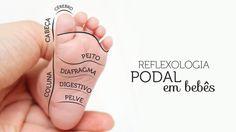 Esta massagem nos pés do bebê ajuda a relaxar, aliviar as cólicas e até acelera o desenvolvimento motor. A reflexologia podal em bebês consiste em uma massagem realizada nos pés dos pequenos. Por m…