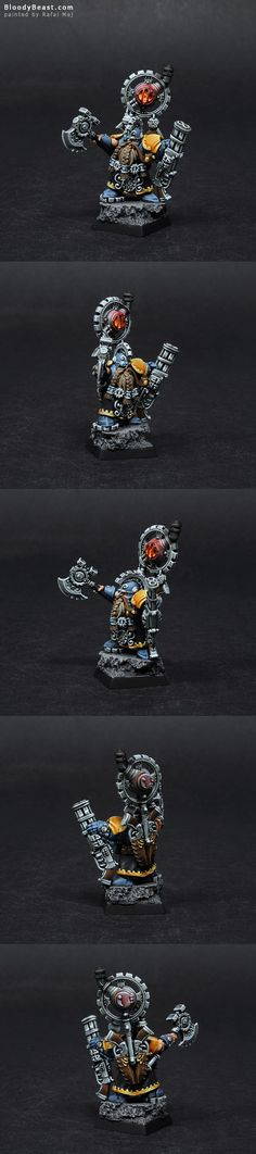 Dwarf Engineer Grimm Burloksson