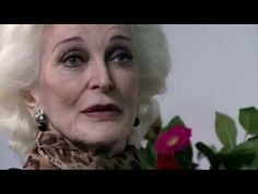 Carmen Dell'Orefice in conversation with Prof Frances Corner OBE - YouTube.   So sharp and Grounded.