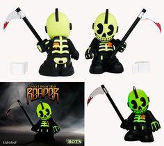 """Don't Fear The Reaper"" | 'Bot Mini by Kidrobot | Artist: Andrew Bell"