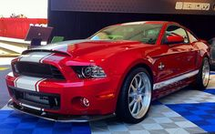 2013 Shelby GT500 Super Snake Debuts with 850-HP Model