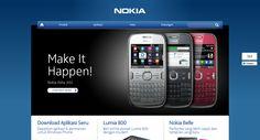Nokia Indonesia Website Design