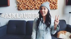 #ASKLAUREN: ALL THE VEGAN QUESTIONS Inspirational Videos, Vegan Life, Winter Hats, This Or That Questions, Clothes, Education, Fashion, Outfits, Moda