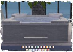 Hot Tub Recolors V1 at Pixel Shrine – Devilicious via Sims 4 Updates