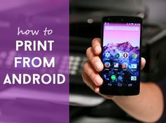 Want to print from Android to old-fashioned paper? Learn how to here: http://cnet.co/1mH84gI