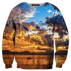 Beautiful Sunset Sweatshirt – Urban Art Clothing