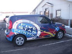 Our newest vehicle wrap cruising in Utah!