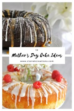 Spoil Mum this Mother's Day with one of 10 Mothers Day cake ideas that cover you from super sweet indulgent cakes to healthy wholefood cakes. Mothers Day Desserts, Mothers Day Cake, Mothers Day Breakfast, Sweet Pie, Breakfast Recipes, Dinner Recipes, Cake Tutorial, Yummy Cakes, Cake Ideas