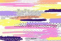 Fondo abstracto de trazos de pincel vect... | Free Vector #Freepik #freevector #fondo #fondo-abstracto #abstracto #rosa