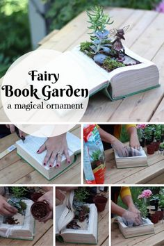 DIY Fairy Garden Book: A Magical Ornament in Less than 10 Minutes