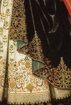W. LARKIN - Lady Dorothy Cary, detail 1615