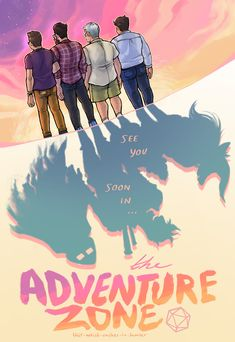 """this-artist-rushes-in: """"On to new worlds, to new stories, new adventures. You're going to be amazing! Adventure Zone Podcast, The Adventure Zone, Mcelroy Brothers, Night Vale, New Adventures, News Stories, Dungeons And Dragons, Nerdy, Fan Art"""