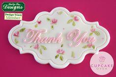 Placa Obrigado (Katy Sue Designs) -Cód.4104 (10,5x6,5cm) - www.tonsedons.com.br