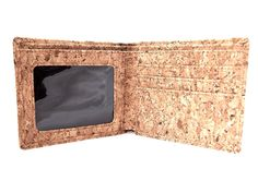Men's Wallet Slim Bifold Design for Front Pocket Fit. Made from Cork at Amazon Men's Clothing store: