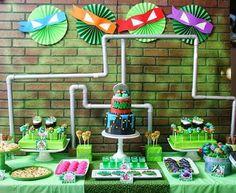 Decoração de Festa Tartarugas Ninja: Dicas, Fotos, Aniversário