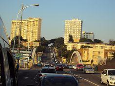 Ridge Rd heading south over Tollgate Bridge - Durban News South Africa, Durban South Africa, Kwazulu Natal, Pretoria, My Land, Homeland, Art Images, New York Skyline, Birth