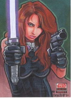 Star Wars Galaxy 5: Mara Jade by Randy Martinez