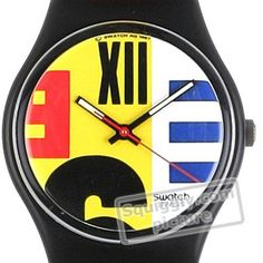 Swatch Nine-To-Six GB117 - 1987 Fall Winter Collection