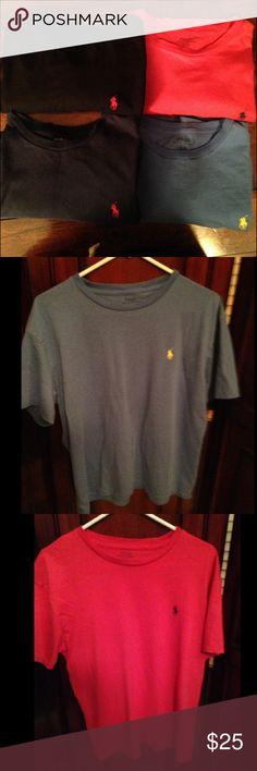 ralphs delivery mens ralph lauren short sleeve polo shirts xl
