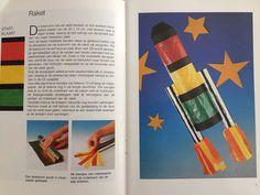 Simpele Sint maarten lampion DIY: raket
