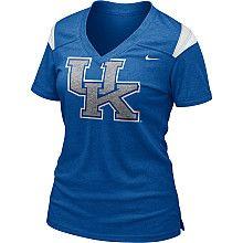 Nike Kentucky Wildcats Women's Football Replica T-Shirt