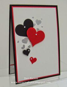 Stampin' Up! - Perpetual Birthday Calendar - Valentine ....  Teri Pocock - http://teriscraftspot.blogspot.co.uk/2015/02/perpetual-birthday-calendar-valentine.html