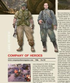 Company of Heroes. Published in issue December 2006
