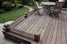drewniane deski tarasowe