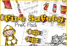 Free Fire Safety PreK Pack from Royal Baloo