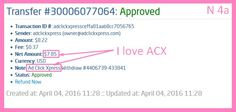 Now Paying 4% A Day at ACX ! ACX is by far the BEST Online Money-making Program Ever. Having the ability to change the Variable DSC Rate allows ACX to keep paying huge Daily Commissions for months and months... even for years !!! I work online from home and I manage to cover my low salary income.Online income is possible with ACX, who is definitely paying- no scam here. http://www.adclickxpress...