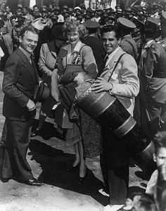 Lucy & Desi with James Cagney